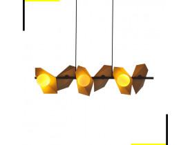Pendente Floki - Dourado e Preto - GH004