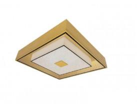 Plafon Zeus Quadrado Ouro